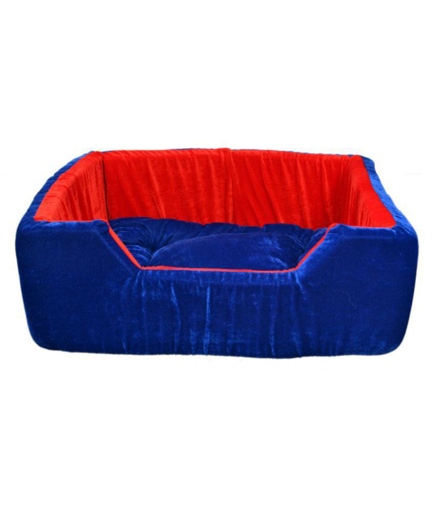 DOG&CAT  BLUE/RED  CHORS BED