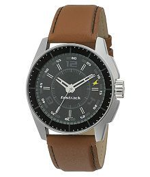 Fastrack 3089sl5 Leather Analog Men's Watch