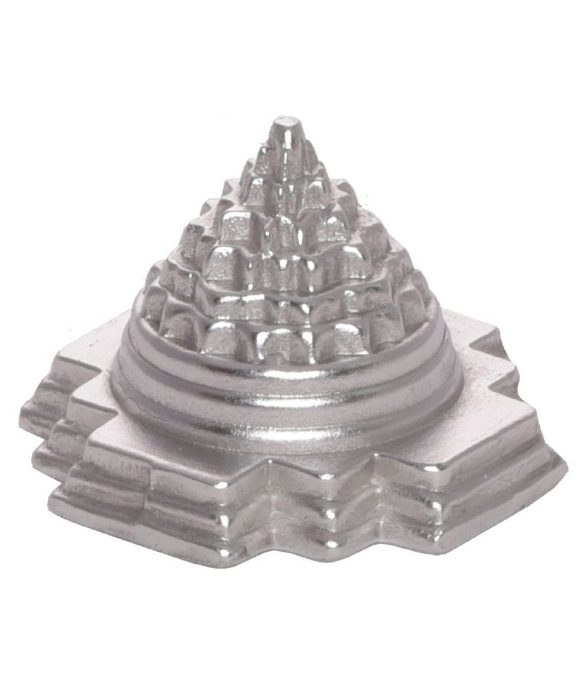 Arkam Parad Meru Shri Yantra / Parad Meru Shree Yantra / Mercury Meru Shri Yantra For attainment of health, wealth and overall prosperity. (74 grams)