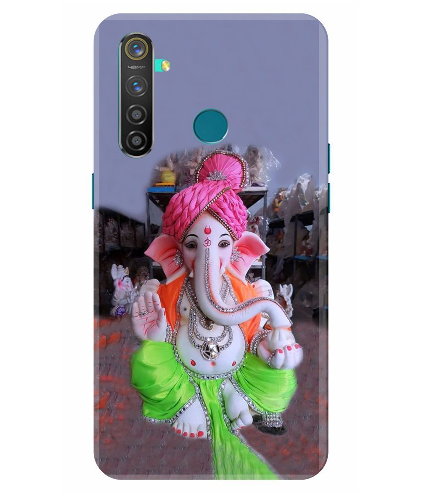 Realme 5 Pro Printed Cover By VINAYAK GRAPHIC The back designs are totally customized designs