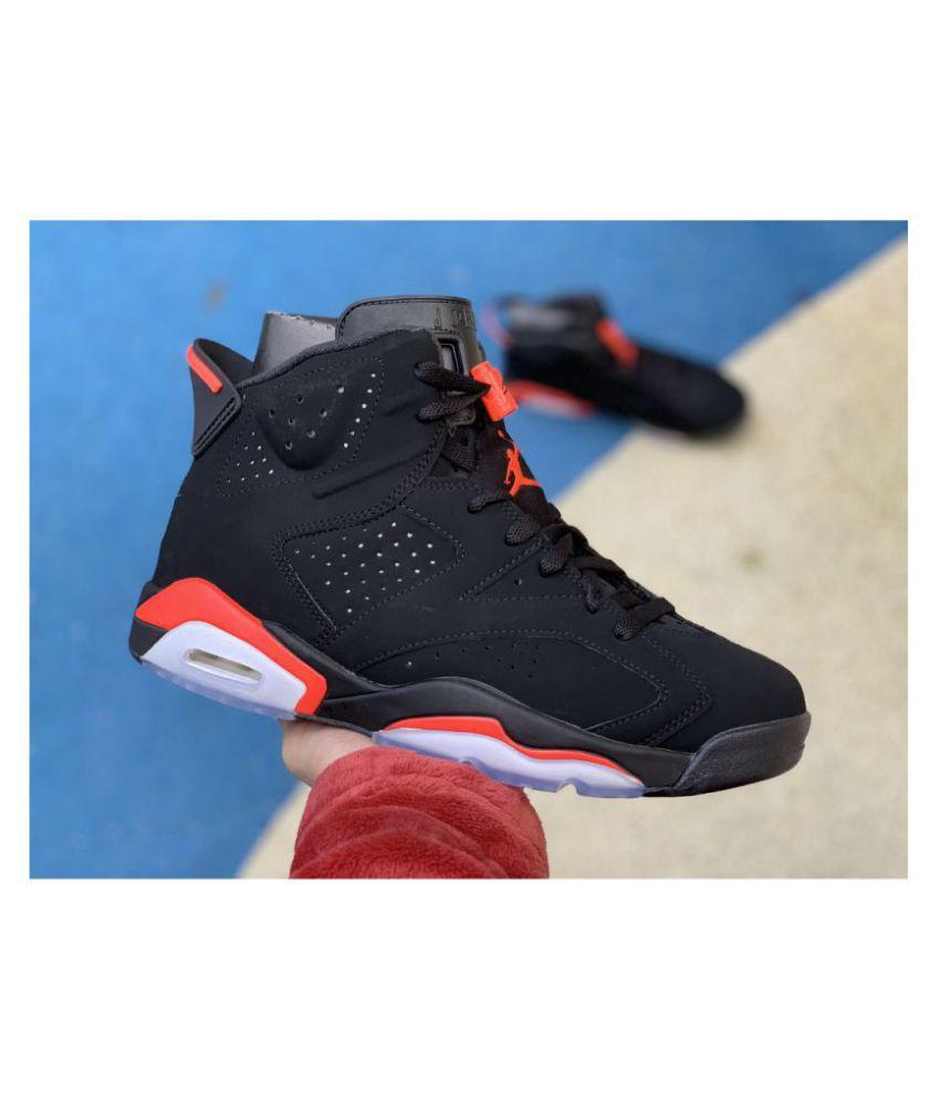Nike Air Jordan 6 Retro Running Shoes Black Buy Online At Best Price On Snapdeal