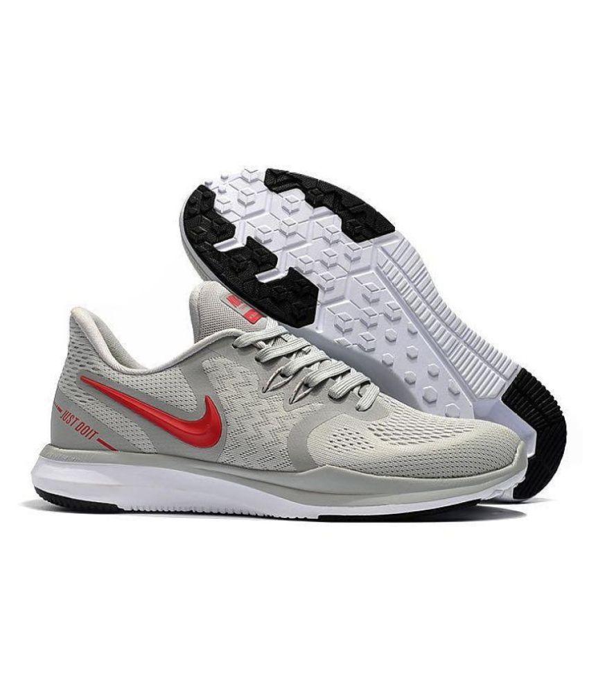 Nike In-Season TR 8 Gray Running Shoes