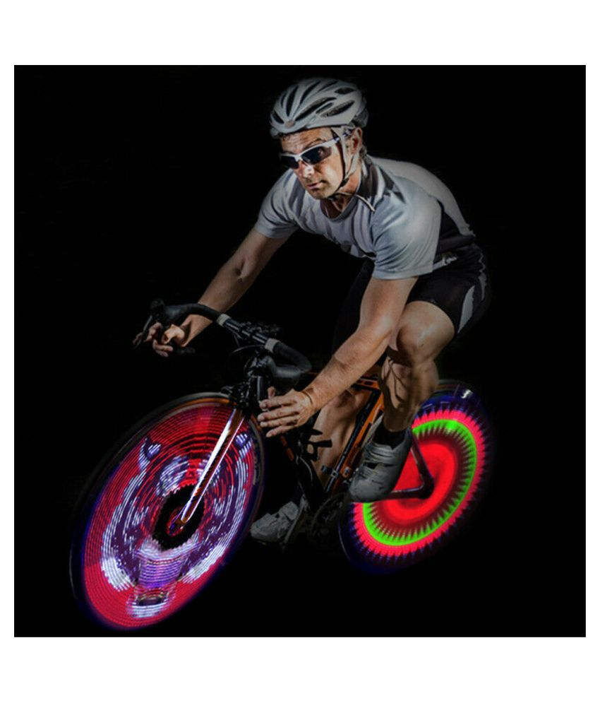64 LED Colorful Double-Side Display Cycling Bicycle DIY Spoke Wheel Light 2019