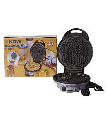NOVA NT237W 5 Heart Shape 900 Watts Waffle Maker