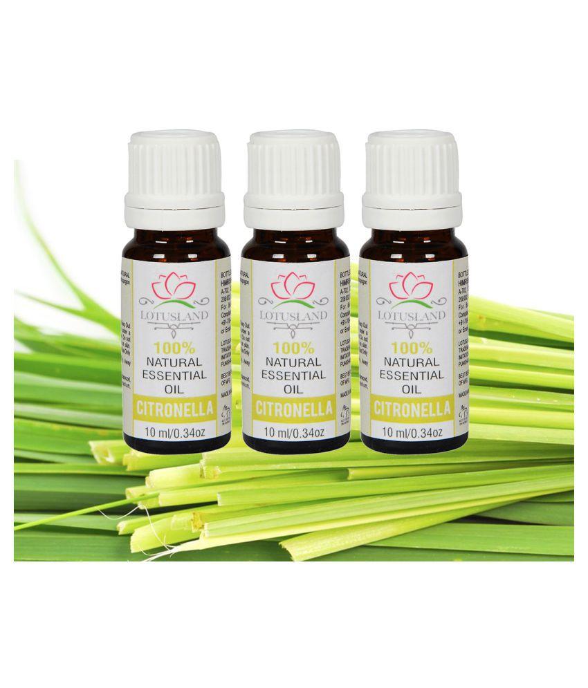 Lotusland Citronella - Pack of 3 Essential Oil 10 mL