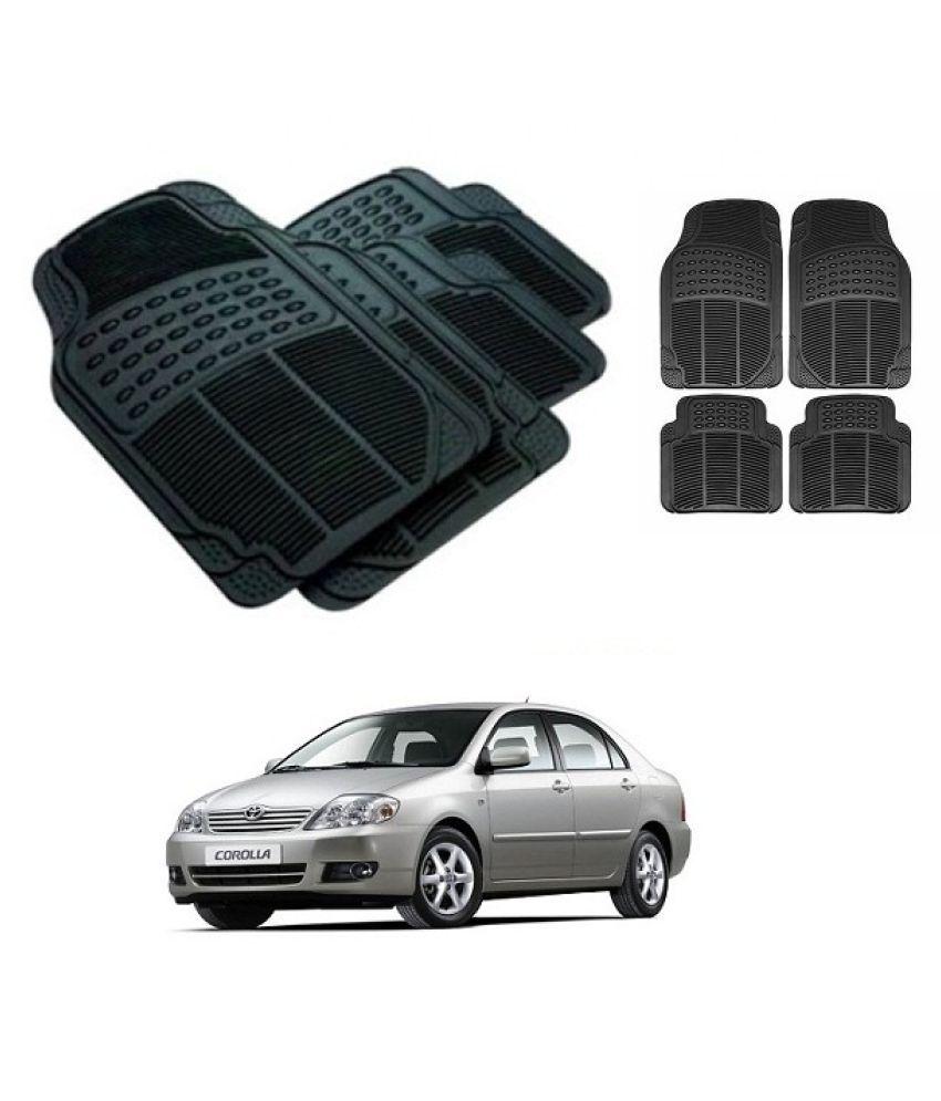 Trigcars Black Set of 4 Floor Mat