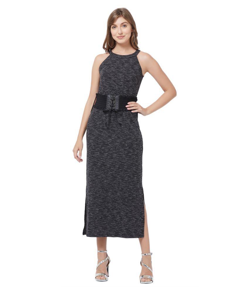 109 F Viscose Black Regular Dress