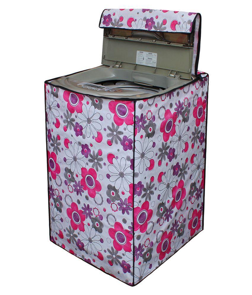Glassiano Single PVC Multi Washing Machine Cover for ...