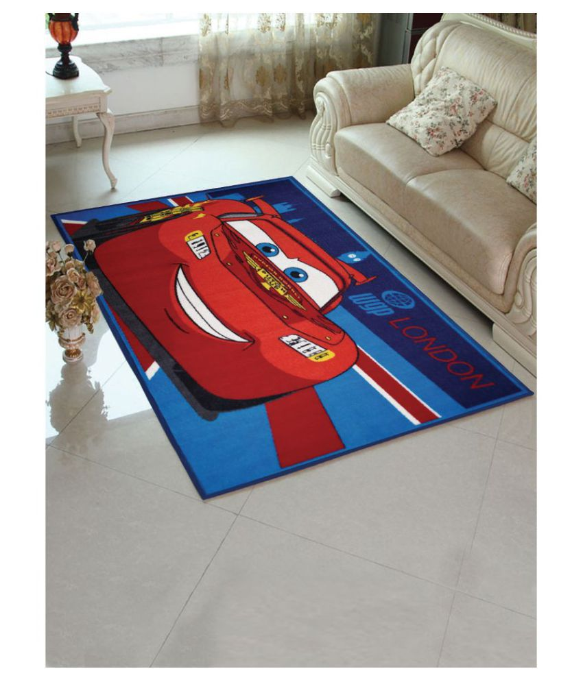 Marvel Red Polyester Carpet Printed Other Sizes Ft
