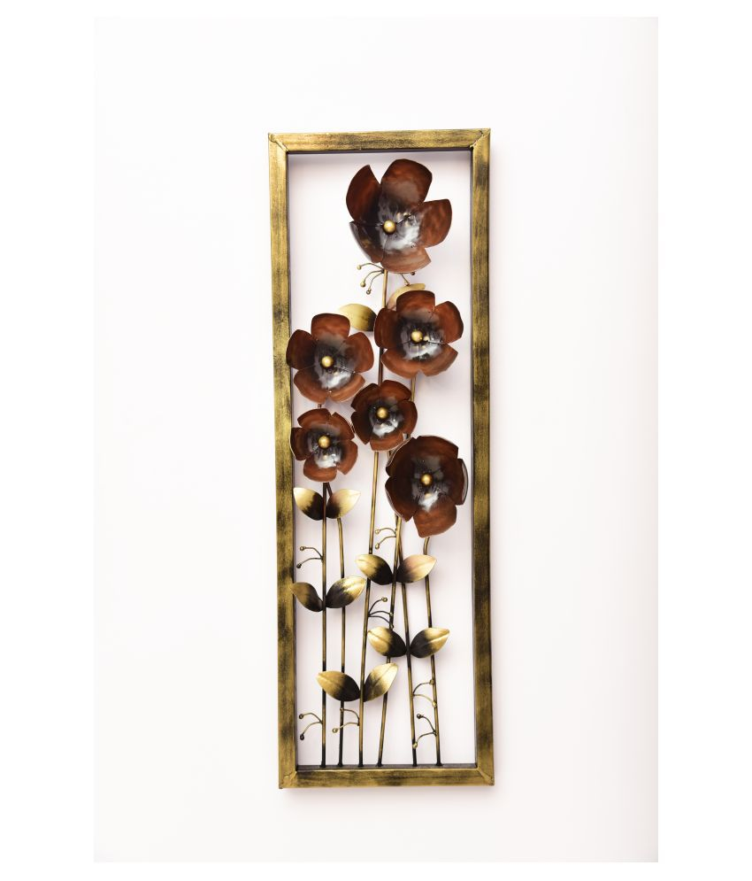 Antique Export Iron Designer Shape Decoratives Panel Multi - Pack of 1