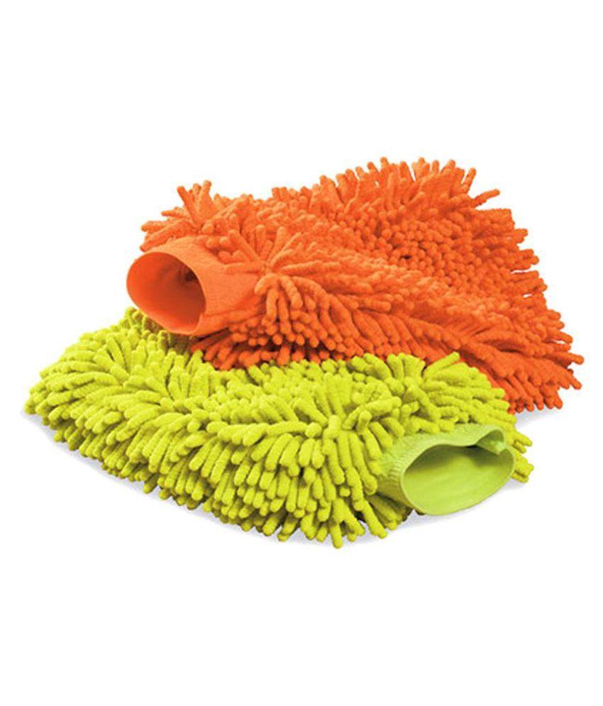 GLOVES COMBO Multicolor Microfiber Multi Purpose Cleaning