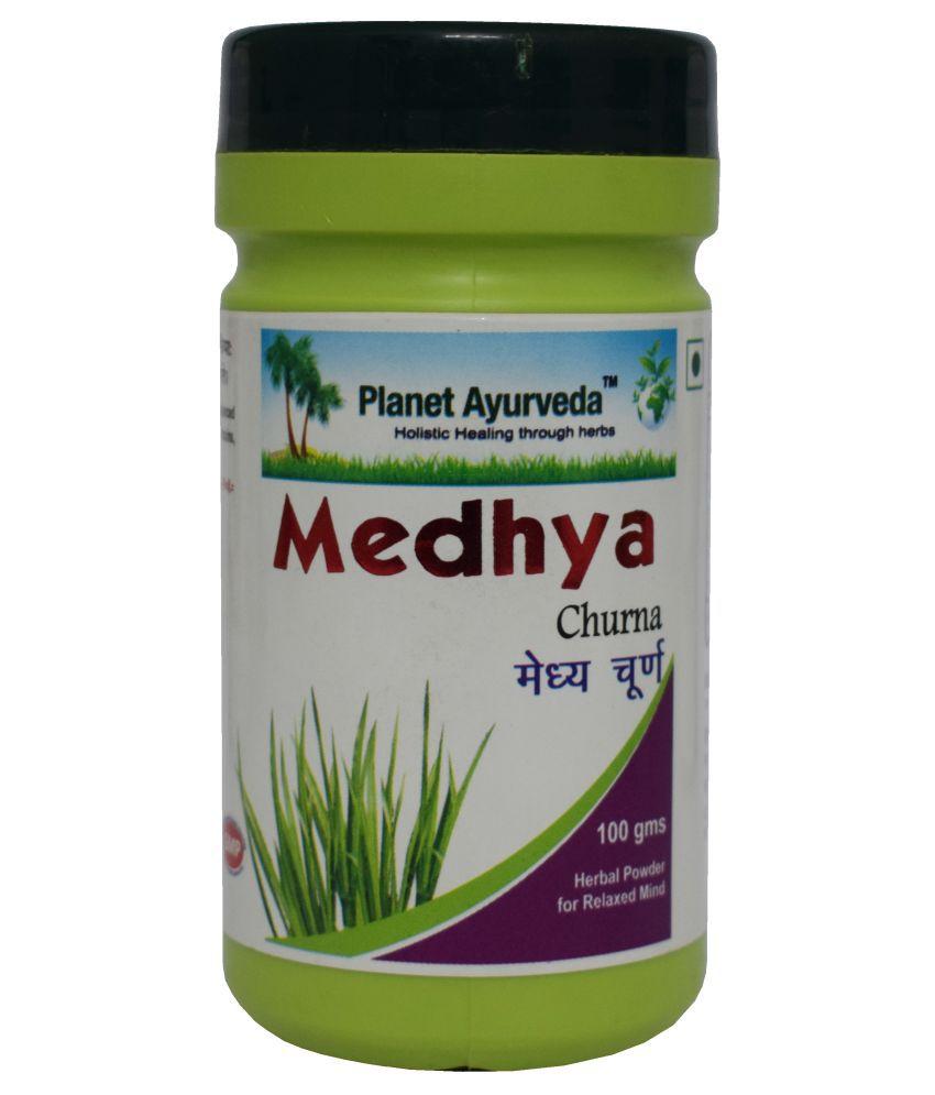 Planet Ayurveda Medhya Churna  Powder 100 gm Pack Of 2