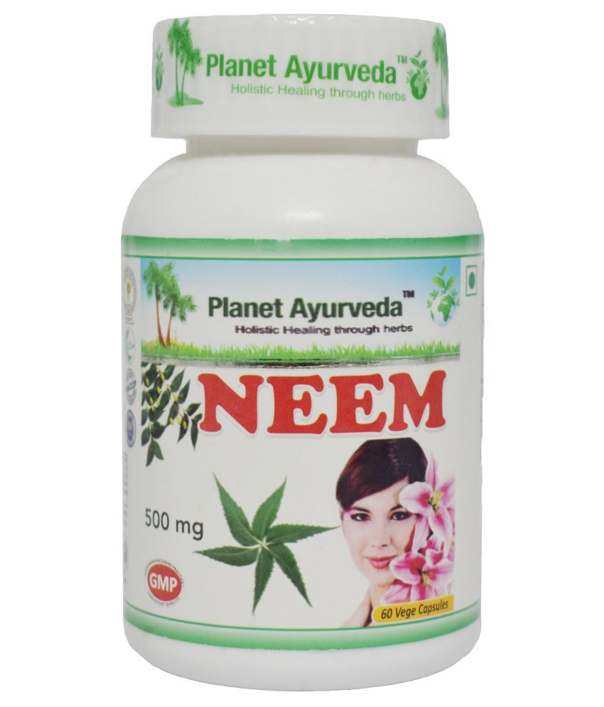 Planet Ayurveda Neem Capsules Capsule 60 no.s Pack Of 1