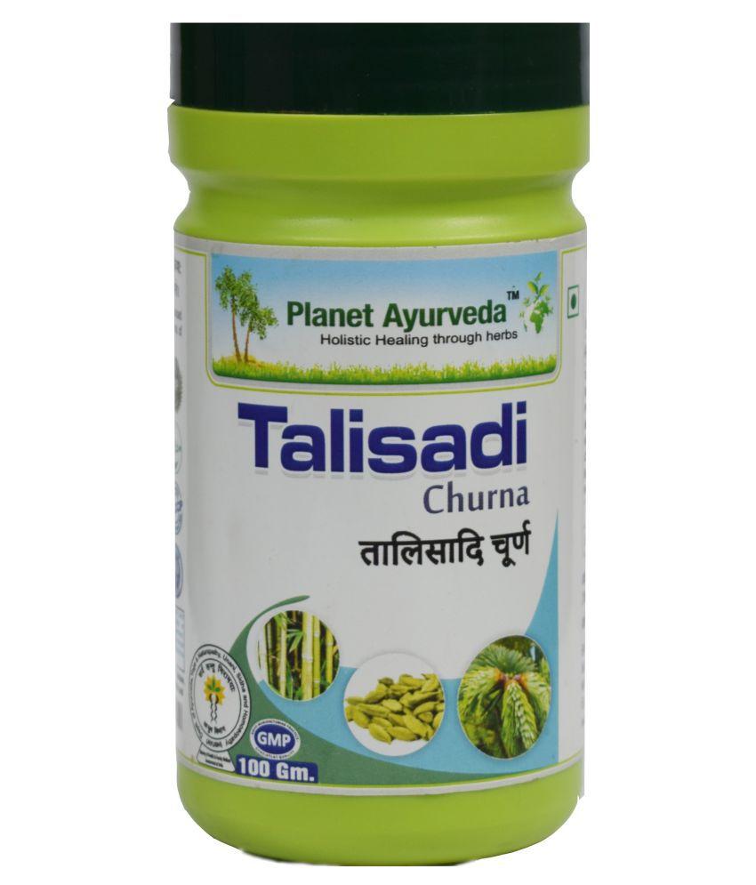 Planet Ayurveda Talisadi Churna  Powder 100 gm Pack Of 2
