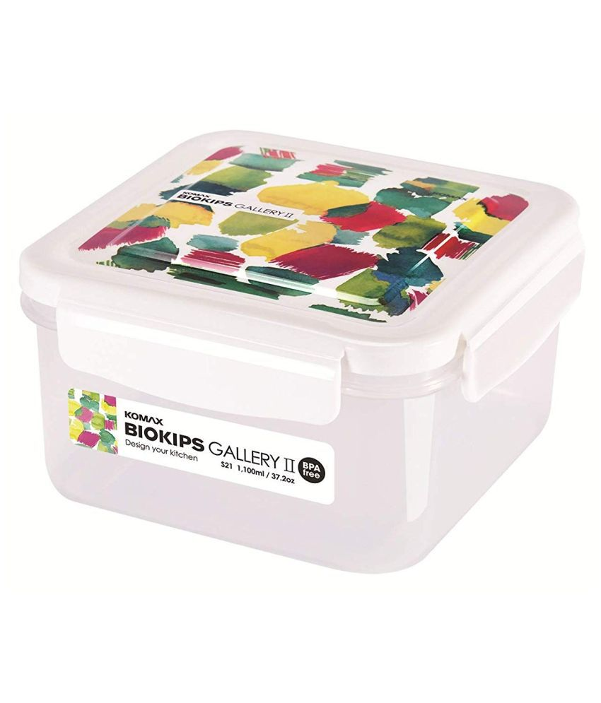 Komax Polyproplene Food Container Set of 1 1100 mL