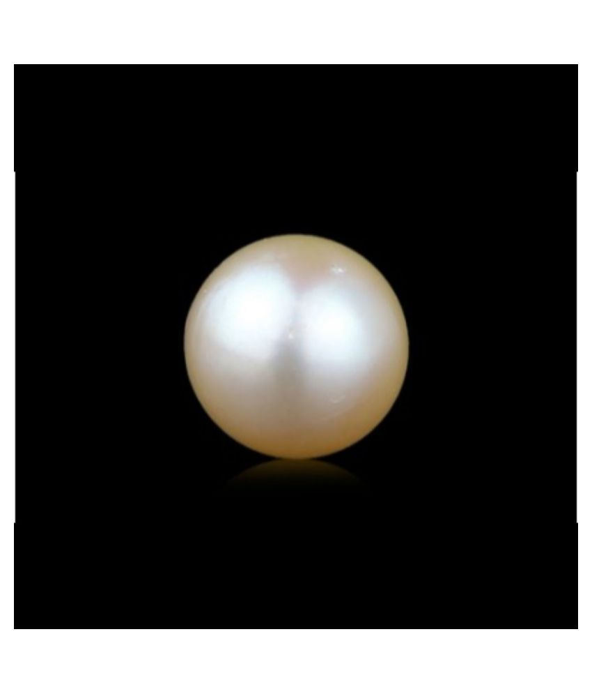 buyerstops 8 -Ratti Self certified White Pearl Semi-precious Gemstone