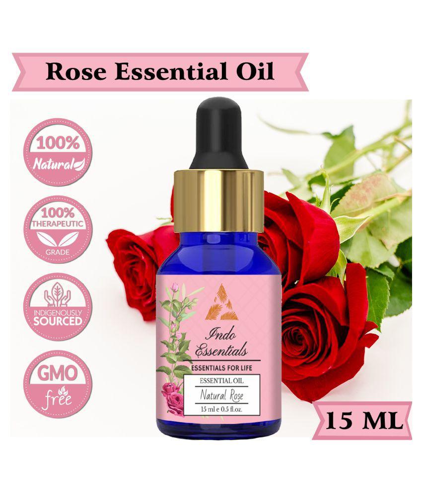Indo Essentials Rose Essential Oil 15 mL