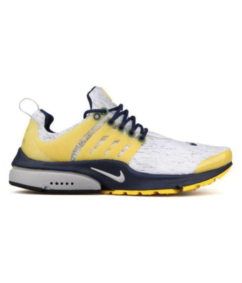 Nike Presto Extreme Yellow Running Shoes