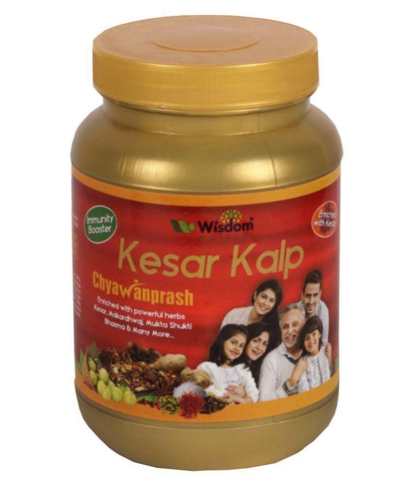 Wisdom Natural Kesar Kalp Chyawanprash Saffron Fruit Puree 1000 g