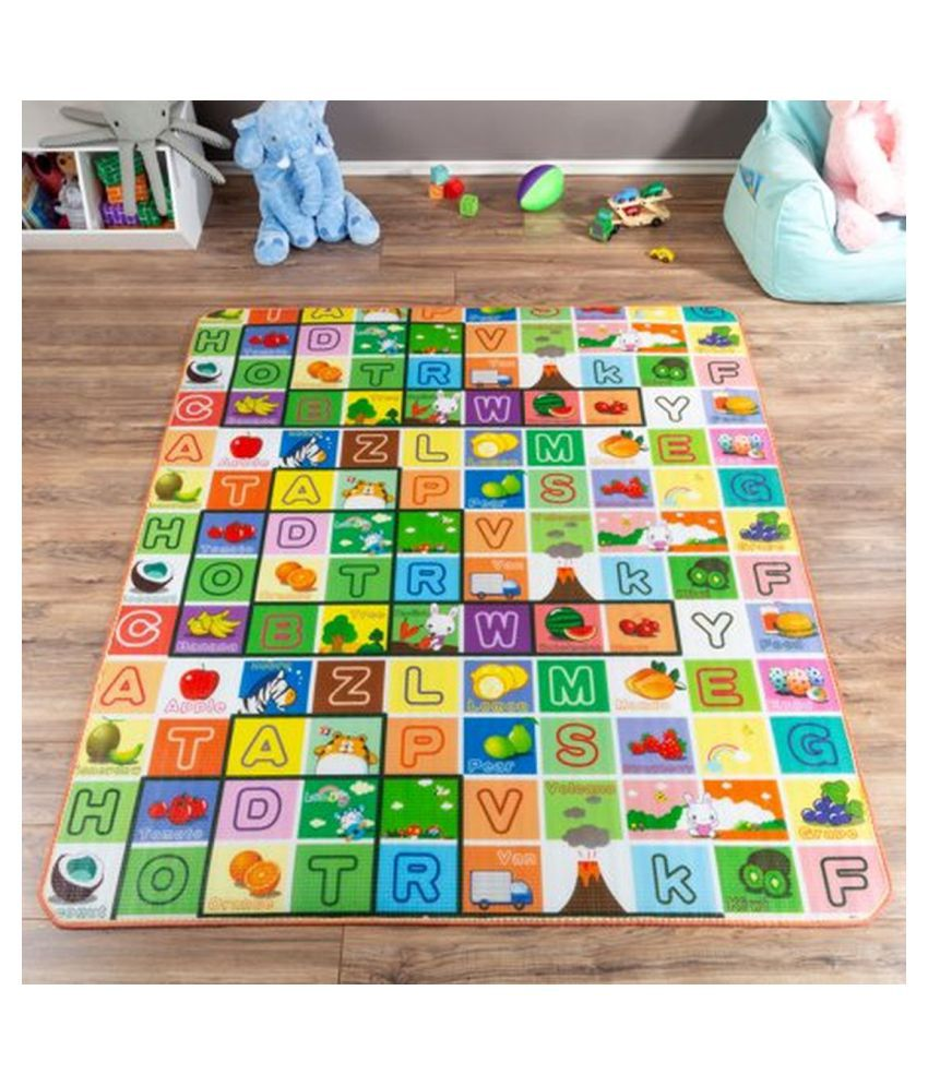 NFI Printed Play Mat with a carry bag (1.2 x 1.8 metre)