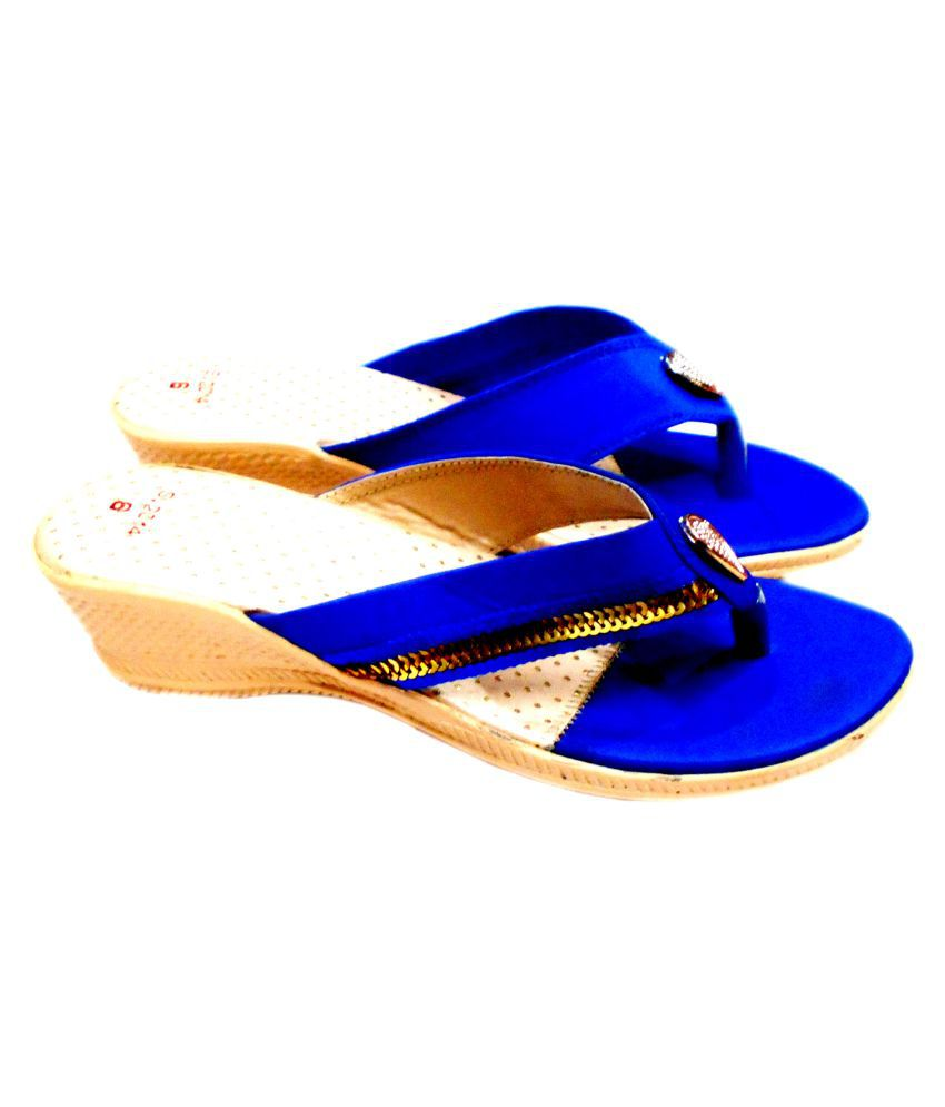 iBest Blue Casual Shoes