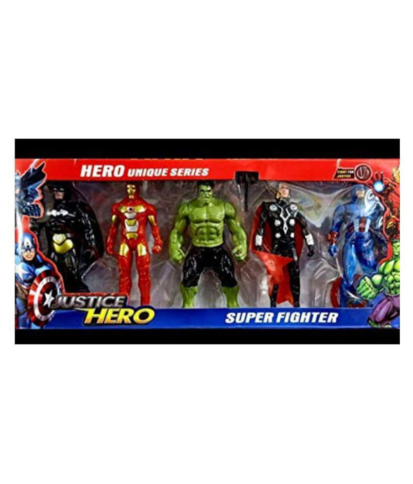 avengers toys set avengers action figures maintenance justice superheros  action figures set of kids set of 5
