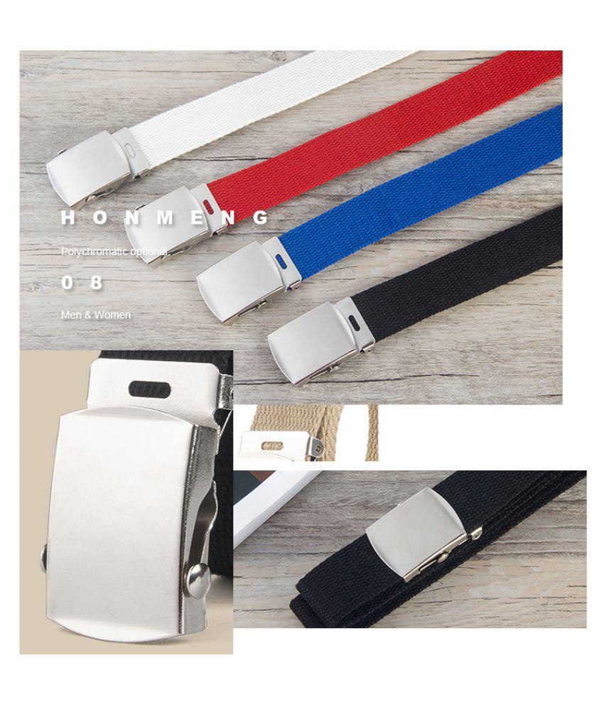 Fashion 8 button mens leather belt