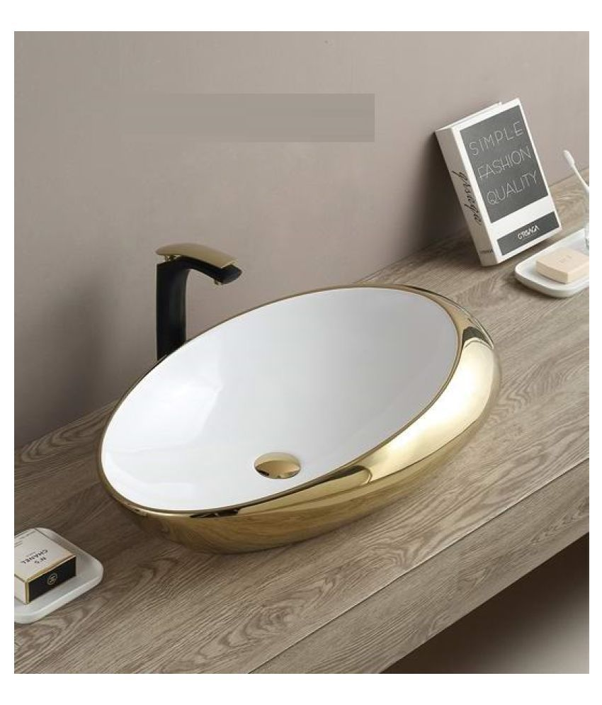 Ceramic Multi-Colour Ceramic Over Counter Wash Basins