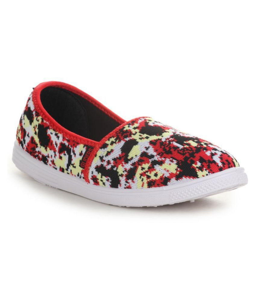 Gliders By Liberty Red Casual Shoes