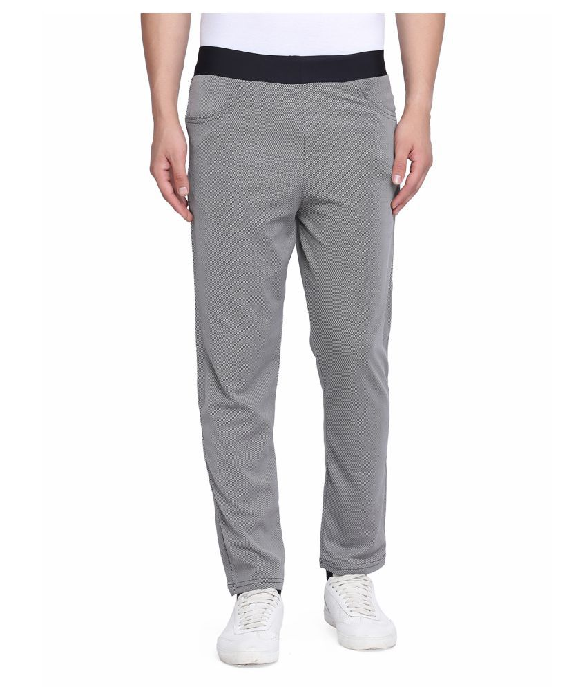 Galatea Grey Polyester Trackpants