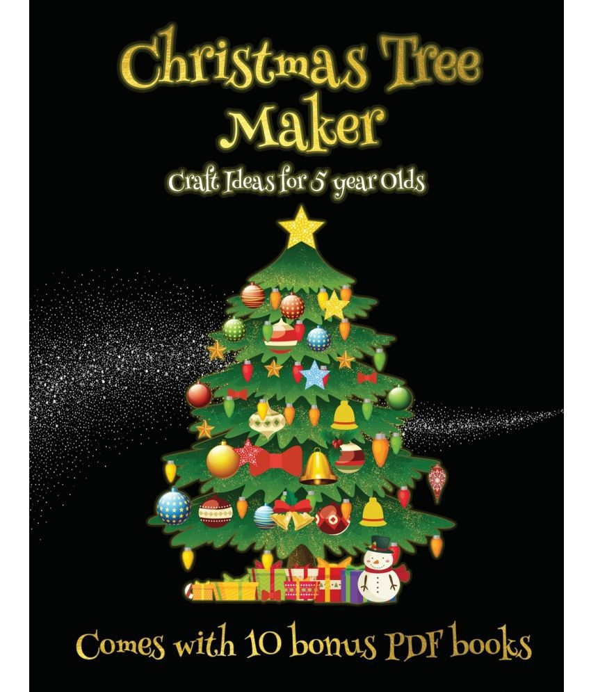 Craft Ideas For 5 Year Olds Christmas Tree Maker Buy Craft Ideas For 5 Year Olds Christmas Tree Maker Online At Low Price In India On Snapdeal