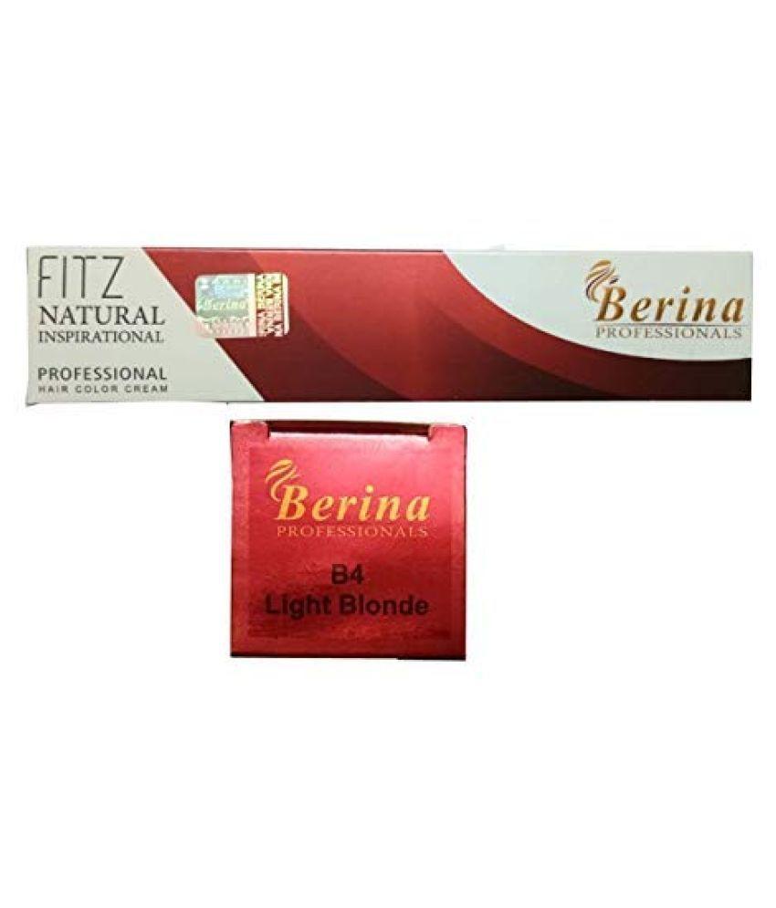 Berina Light Blonde Hair color (BER-011) Permanent Hair Color Light Blonde 2 g
