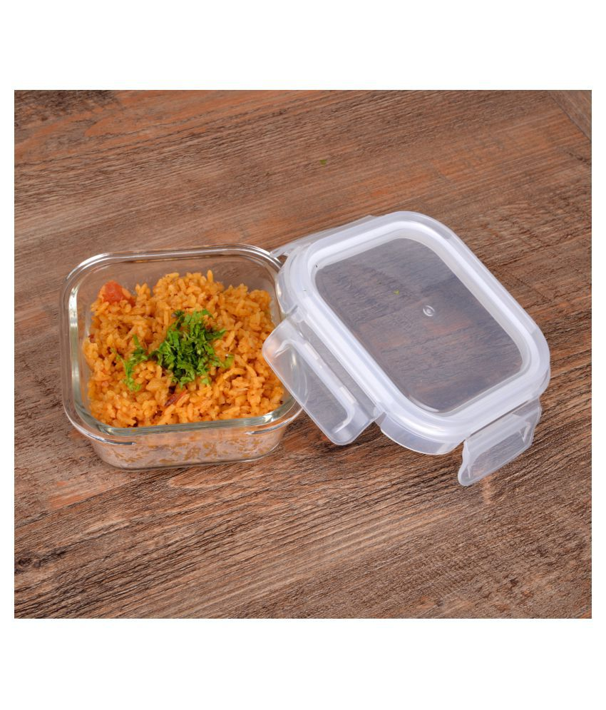 Cutting Edge Glass Food Container Set of 1 320 mL