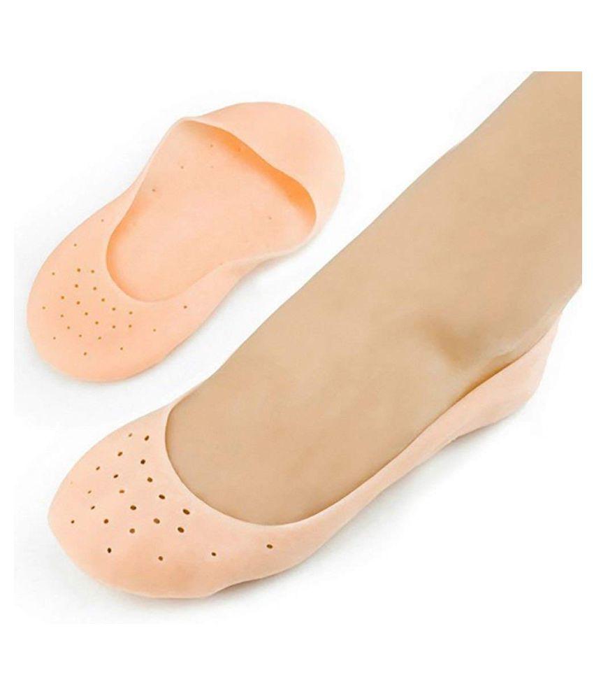 hi-lee Silicone Gel Heel Socks With Gel Pad Free Size Regular