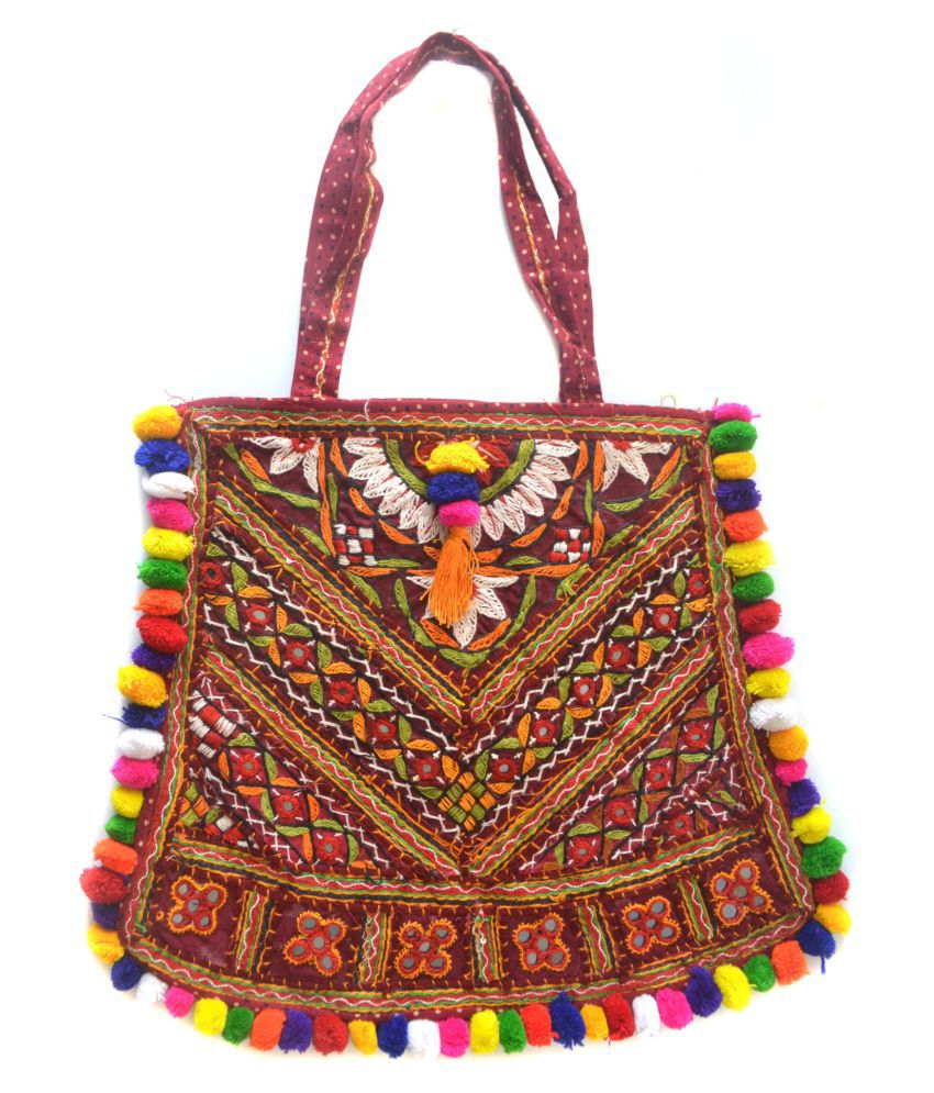 prijam Multi Cotton Shoulder Bag