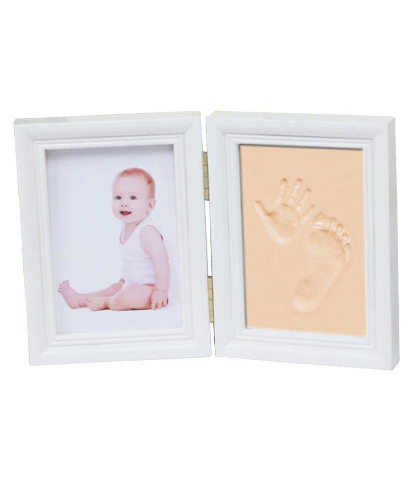 EZ Life PVC TableTop White Photo Frame Sets - Pack of 1