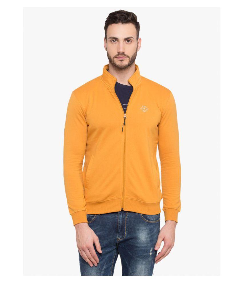 Status Quo Yellow High Neck Sweatshirt