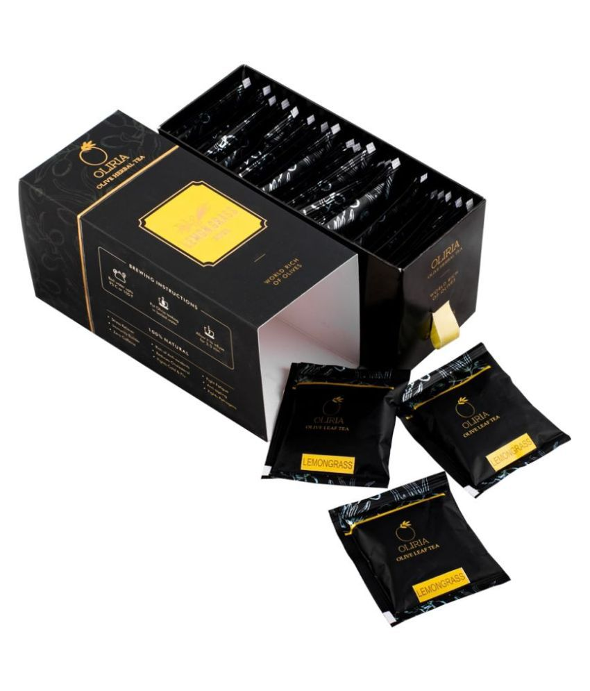 Oliria Lemongrass Tea Powder 40 gm Pack of 20
