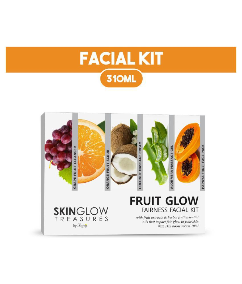 Luster Fruit Glow Fairness Facial Kit 310 mL