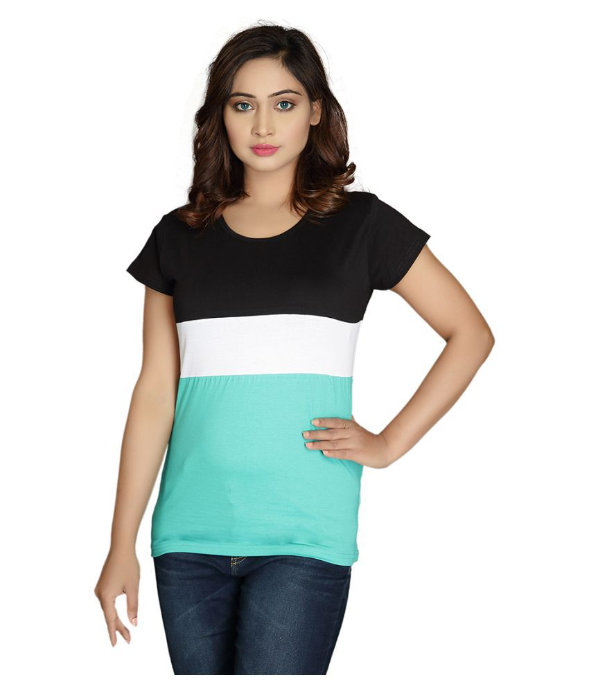 Magrechee Cotton Green T-Shirts