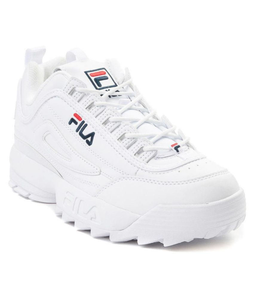 Fila Disrupter White Running Shoes