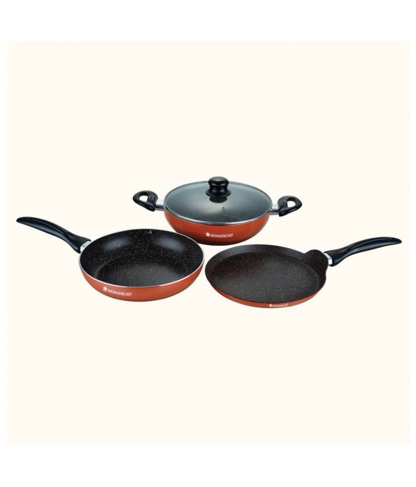 Wonderchef 4 Piece Cookware Set