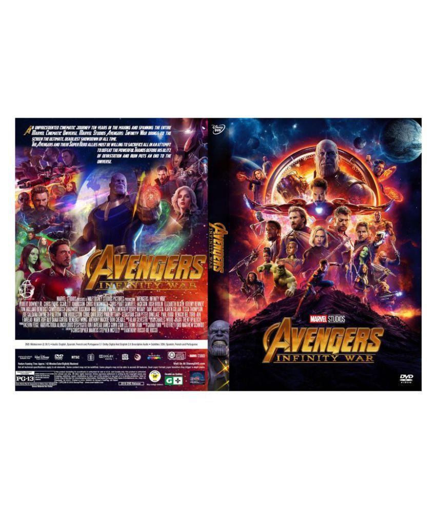 Avengers: Infinity War (2018) ( Blu-ray )- Hindi