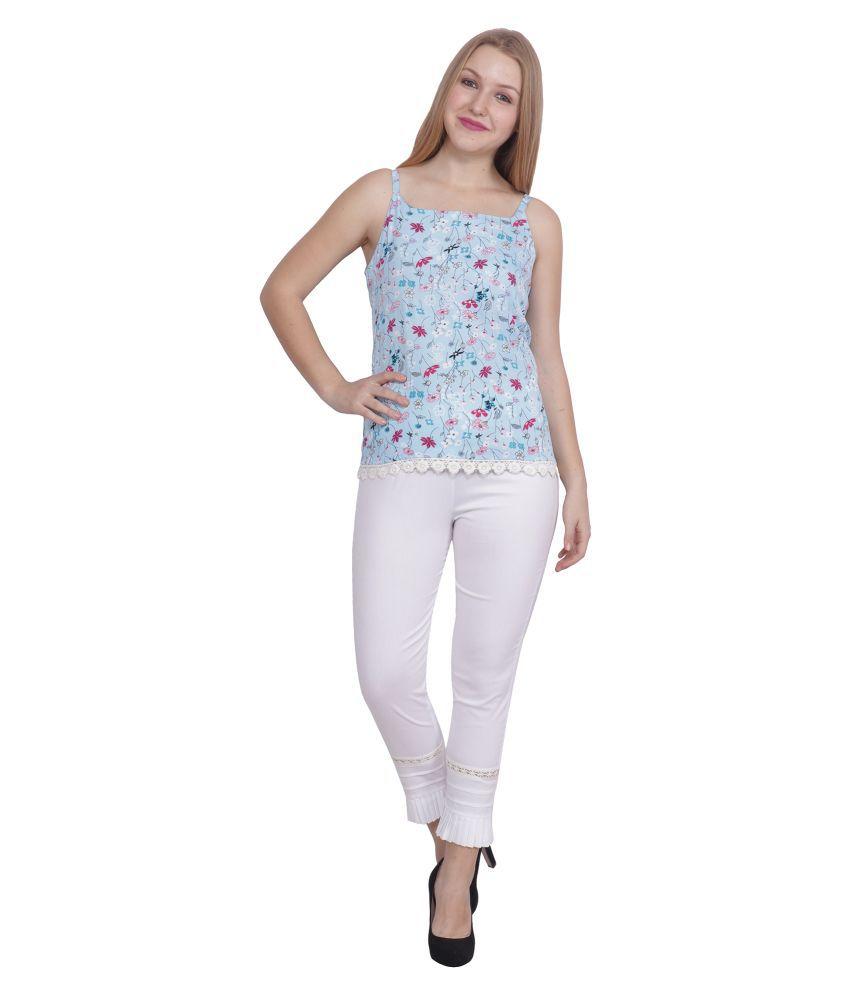 POPWINGS White Cotton Jumpsuit