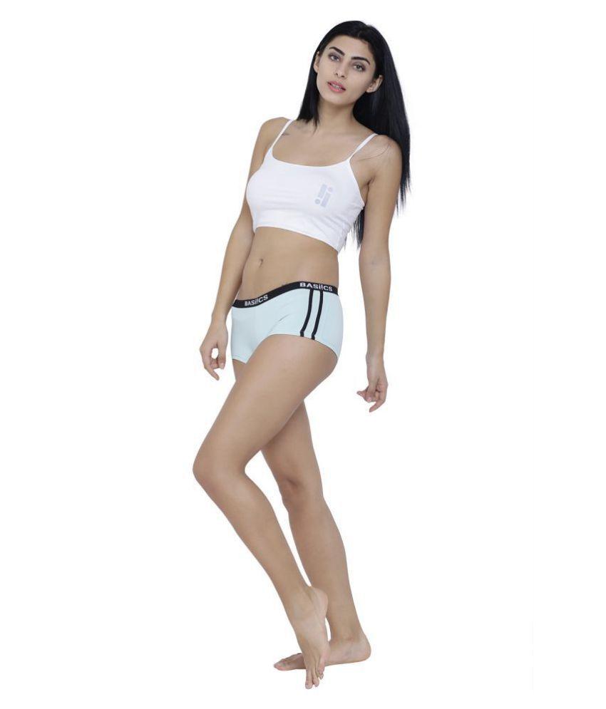 BASIICS By La Intimo Cotton Lycra Boy Shorts