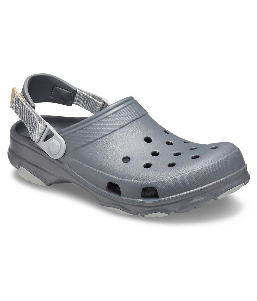 Crocs Gray Clogs Price in India- Buy