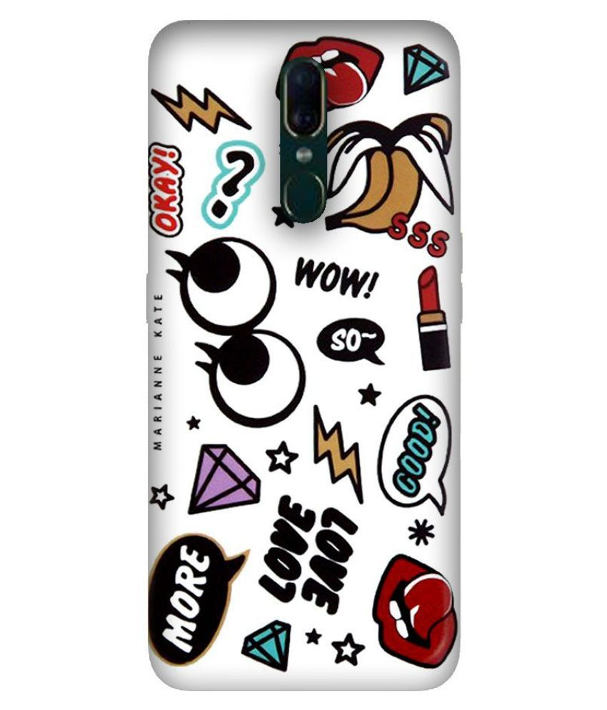 OPPO F11 Printed Cover By Emble