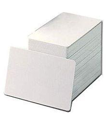 Dreams Plain White PVC ID Cards for Inkjet Printers ? Set of 100 DTPVC100 Single Function B/W Inkjet Printer