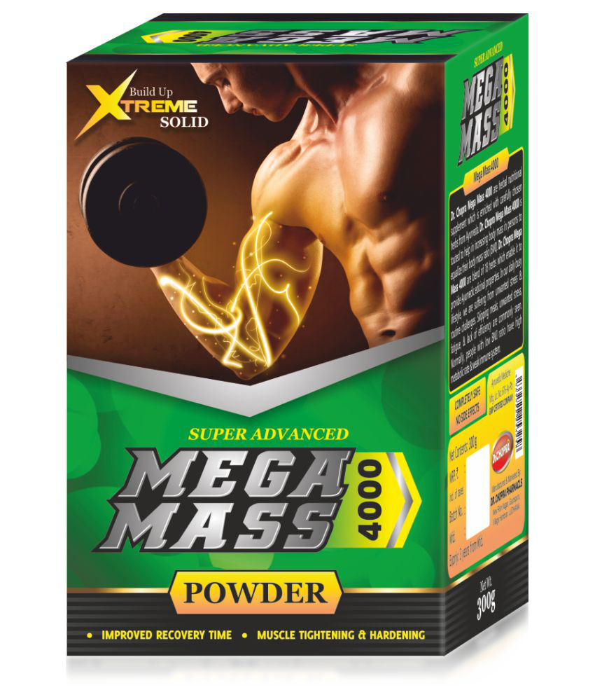 Dr.Chopra Pharmacls Mega Mass 4000 300 gm Unflavoured