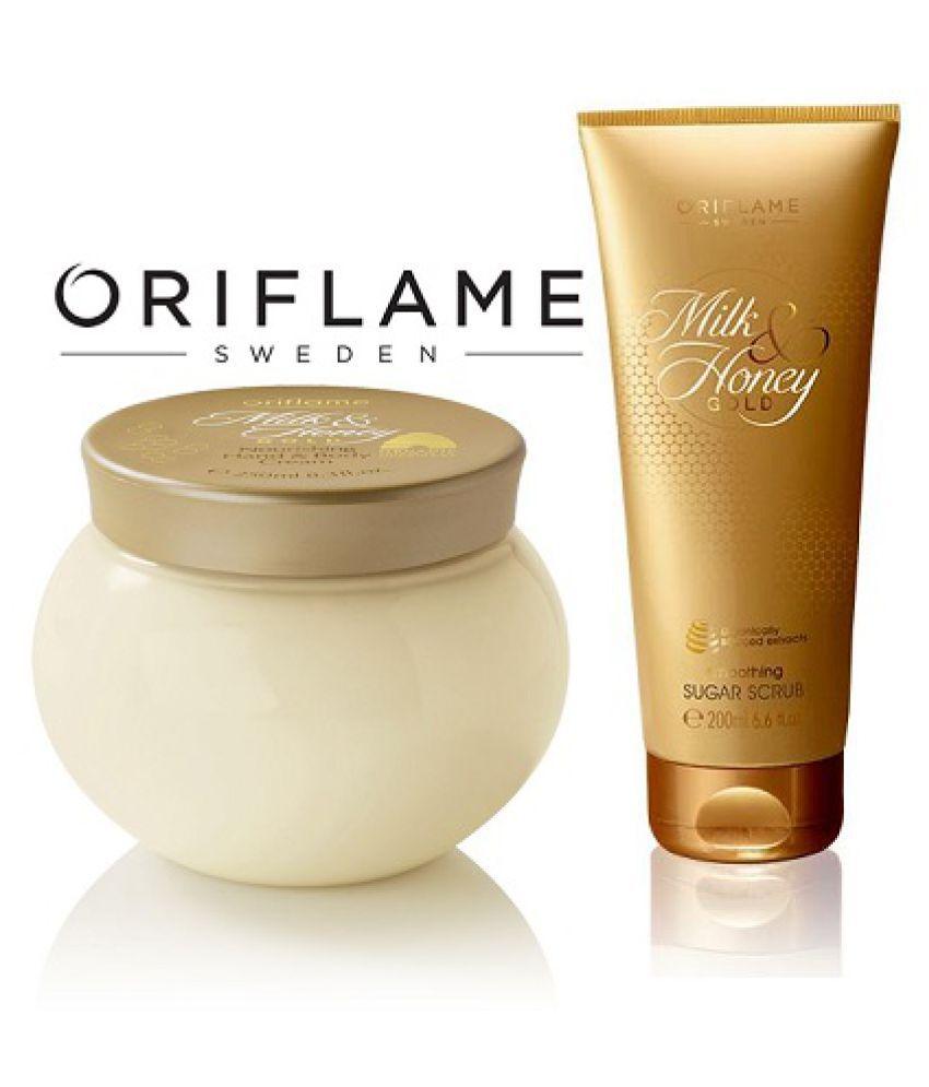 Milk & Honey Gold Smoothing Sugar Facial Scrub nourishing Hand & Body Moisturizer 450 ml